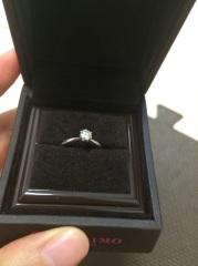 【アイプリモ(I-PRIMO)の口コミ】 じっくり話を聞いてもらえて好みのものを決めれた。この指輪の場合、石を…