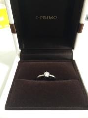 【アイプリモ(I-PRIMO)の口コミ】 婚約指輪は女性にとって貰ったら凄く嬉しいものです。実際に自分が想像して…
