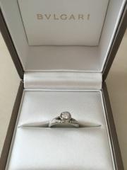 【ブルガリ(BVLGARI)の口コミ】 「プロポーズ時に指輪をプレゼントできなかったため結婚後になったが指輪を…