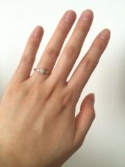 【ENUOVE(イノーヴェ)の口コミ】 結婚指輪はシルバーのシンプルなものがいいと決めていて、元々肌が浅黒い…