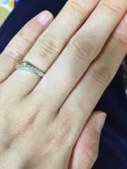 【アイプリモ(I-PRIMO)の口コミ】 普通の結婚指輪じゃおもしろくない、なおかつ可愛いものがいい!と思い、候…