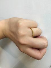 【ティファニー(Tiffany & Co.)の口コミ】 夫が普段使わないので、プラチナのシンプルなペアリング(式用)とは別に …