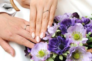 【ギンザタナカブライダル(GINZA TANAKA BRIDAL)の口コミ】 指の太さがコンプレックスだったので細く綺麗に見える指輪を探していました…