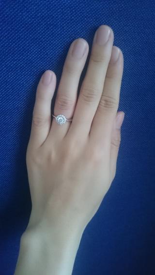【ケイウノ ブライダル(K.UNO BRIDAL)の口コミ】 ありがたいことに実母と義母それぞれから婚約指輪のダイヤを受け継いだので…