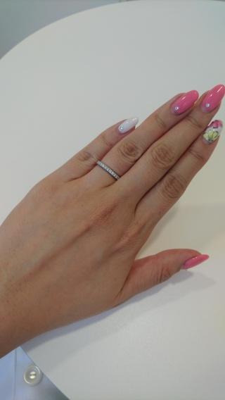 【ティファニー(Tiffany & Co.)の口コミ】 もともとティファニーの指輪に憧れていて、ネットやブログなどで自分の欲し…
