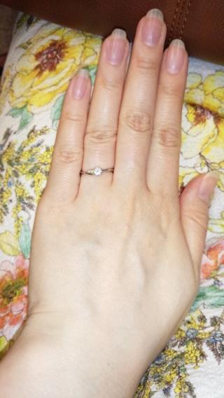 【JEWELRY  KAMATA(ジュエリーかまた)の口コミ】 何件ものお店をみてもピンと来なかった指輪ですが、最後にジュエリーかまた…