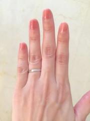 【カルティエ(Cartier)の口コミ】 結婚指輪は普通女性がこだわるものだと思っていましたが、我が家は旦那さ…