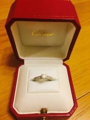 【カルティエ(Cartier)の口コミ】 一生物なので、年齢を重ねても付けていておかしくないシンプルで長く使え…