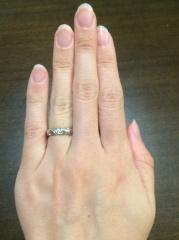 【ショーメ(CHAUMET)の口コミ】 銀座のジュエリーショップを片っ端からまわったのになかなか気に入った指輪…