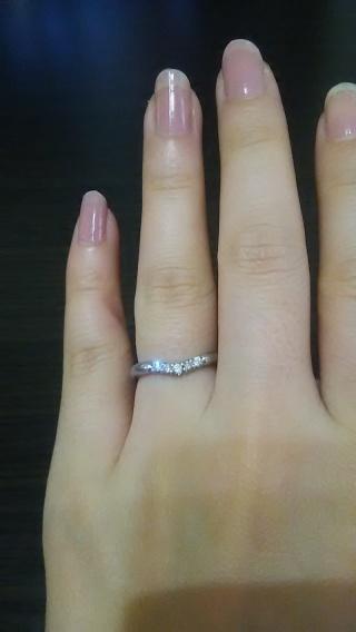 【銀座ダイヤモンドシライシの口コミ】 先に婚約指輪を主人が購入していて、株を買い株主優待で30パーセントほど…
