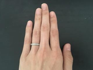 【アイプリモ(I-PRIMO)の口コミ】 スタッフの方に鋳造製法に強度のあるリングと教えていただき、長い間身に付…