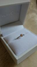 【BRILLIANT CAETLA(ブリアン サエラ)の口コミ】 婚約指輪はすごく高いものをイメージしていたのですが、店員さんにこの指…