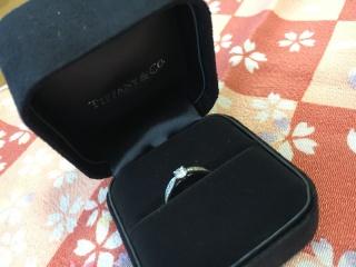 【ティファニー(Tiffany & Co.)の口コミ】 これはサプライズで贈られたものなので私は選んでいませんが、ティファニー…