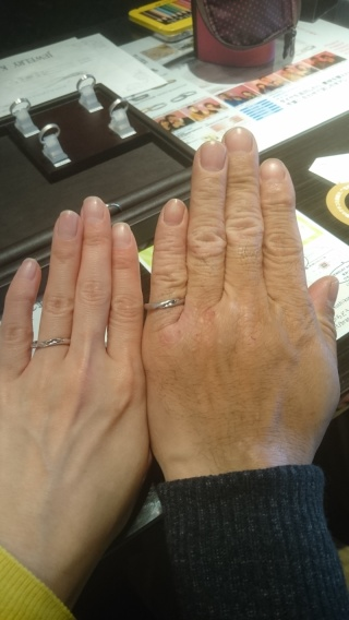 【JEWELRY  KAMATA(ジュエリーかまた)の口コミ】 探していた理想のウェーブ型の指輪です!  遠方のジュエリーショップで見…