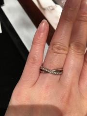 【JEWELRY  KAMATA(ジュエリーかまた)の口コミ】 マリッジリングを検討しているときにまわりの方の指輪に注目して見ていたら…