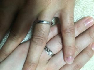 【LUCIE(ルシエ)の口コミ】 自分たちで考えたデザインの指輪をオーダーメイドで作ることができた事です…