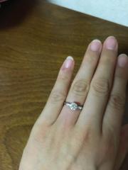 【ハリー・ウィンストン(Harry Winston)の口コミ】 もともと婚約指輪はいらないと思っていました。けれど彼が贈りたいと言って…