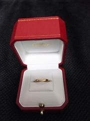 【カルティエ(Cartier)の口コミ】 婚約指輪にバレリーナのエンゲージメントリングに決めたため、一緒にバレ…