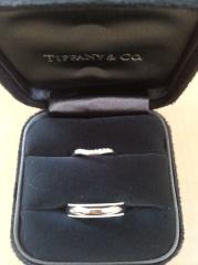 【ティファニー(Tiffany & Co.)の口コミ】 結婚指輪は毎日つけるものなので、ゴツゴツしていないことや着け心地がい…