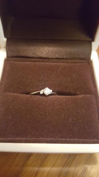 【アイプリモ(I-PRIMO)の口コミ】 丁寧に指輪の種類や指のサイズ、私たちに似合う指輪 をさがしてくださり、…