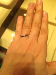 【ギンザタナカブライダル(GINZA TANAKA BRIDAL)の口コミ】 ダイヤ石のもので今まで見てきた中で1番ダイヤが大きくてインパクトがあっ…
