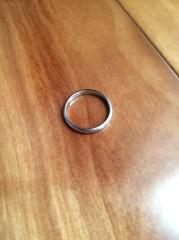 【ティファニー(Tiffany & Co.)の口コミ】 婚約指輪をティファニーで購入したので、結婚指輪は同じブランドで欲しいと…