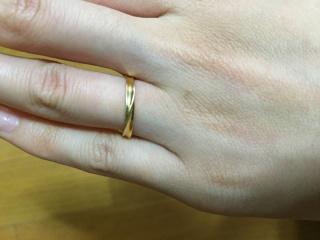 【ジュエリーツツミ(JEWELRY TSUTSUMI)の口コミ】 旦那が選んでくれました!  シンプルな感じとてもよかったです  指輪はプ…