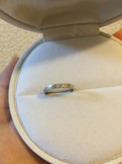 【L'or(ロル)の口コミ】 指輪のブランドにあまりこだわりがなく、デザインと質を重視で選びました。…