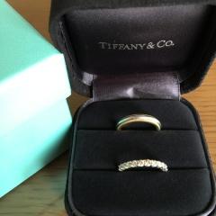 【ティファニー(Tiffany & Co.)の口コミ】 カルティエ・ブルガリ・ティファニーを回りました。 初めはシンプルなプラ…
