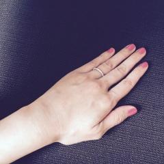 【ジュエリーツツミ(JEWELRY TSUTSUMI)の口コミ】 結婚指輪にあう、ダイヤの指輪を探していました。 たまたま立ち寄った店舗…