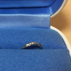 【銀座ダイヤモンドシライシの口コミ】 指輪のデザインをウェーブで探していました。似たような形はたくさんある中…