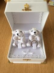 【Jewel HAMA(ジュエルはま)の口コミ】 思い出に残る結婚指輪が欲しくて旦那と探していた所、手作り出来るお店を千…