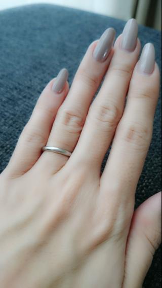 【カルティエ(Cartier)の口コミ】 リングの太さが探していたものとピッタリ合い、こちらのリングを購入しまし…
