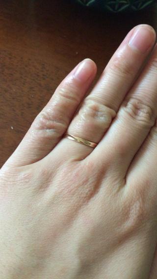 【ジュエリーツツミ(JEWELRY TSUTSUMI)の口コミ】 指輪の決めては、まず家からお店が近かったので何度も足を運べじっくりと選…