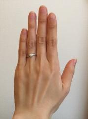 【銀座ダイヤモンドシライシの口コミ】 清楚で大人っぽい雰囲気に憧れていたので、40代50代になっても結婚指輪…