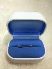 【銀座ダイヤモンドシライシの口コミ】 職場でも付けられて、シンプルだけどダイヤがついてる指輪を探していました…