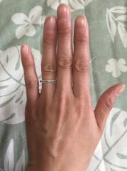 【ティファニー(Tiffany & Co.)の口コミ】 婚約指輪をティファニーの指輪を戴き、結婚指輪もティファニーにしようと決…