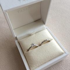 【TASAKI(タサキ)の口コミ】 光り方が違う!と感激し、主人に「これ、わたしの指輪!」と一目惚れで決…