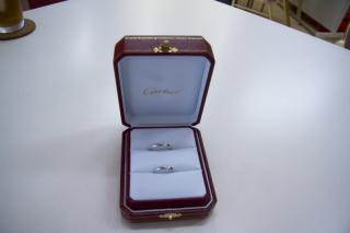 【カルティエ(Cartier)の口コミ】 憧れのカルティエ!プロポーズのときは、おもちゃの指輪が入ったケースを…