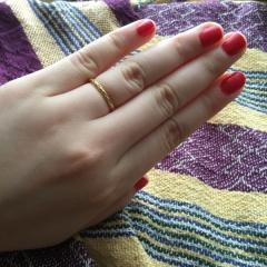 【ケイウノ ブライダル(K.UNO BRIDAL)の口コミ】 指輪を探し始めたとき、当初の予定はオーダーリングの予定でした。好きなよ…