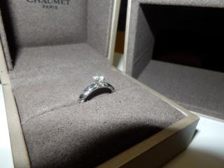 【ショーメ(CHAUMET)の口コミ】 もともとは婚約指輪の必要性を感じていなかったのですが、「記念だから」と…