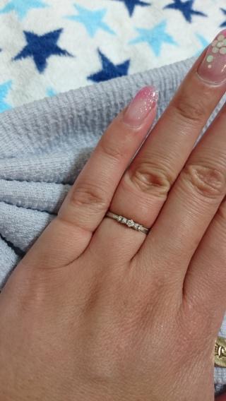 【ジル スチュアート(JILLSTUART)の口コミ】 婚約指輪を買わない事、ドレスでジルスチュアートが着れなかったので指輪だ…
