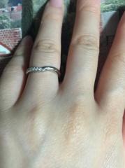 【ケイウノ ブライダル(K.UNO BRIDAL)の口コミ】 一番の決め手は、指輪を持っていけば磨きなおしなどが無料で行えることでし…