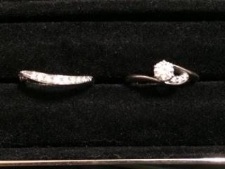【ラザール ダイヤモンド(LAZARE DIAMOND)の口コミ】 当初から、婚約指輪と結婚指輪を重ね付けしたいと考えていました。 そこで…