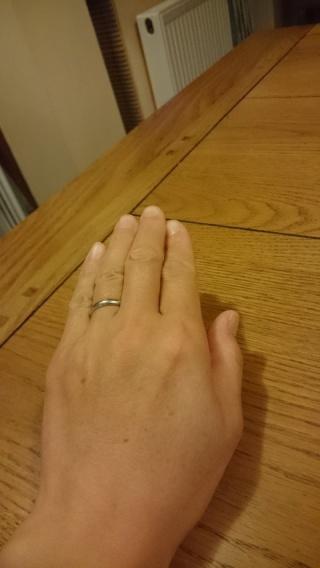 【KAORUの口コミ】 何度もいろんな指輪を見たのですが、最終的には、末永く使うものなので、飽…