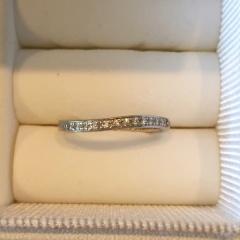 【LEHAIM(レハイム)の口コミ】 旦那さんから貰った婚約指輪もこちらのお店の物だったので、重ね付けがで…