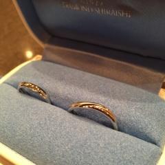 【銀座ダイヤモンドシライシの口コミ】 ウェーブのデザインが好きだったのですが、つけてみた感じでなんとなく落ち…