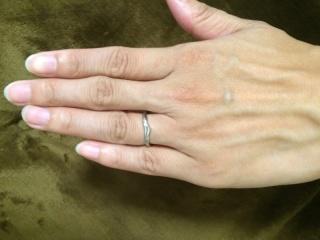 【ケイウノ ブライダル(K.UNO BRIDAL)の口コミ】 ディズニーが好きだったのと、シンデレラの指輪の意味合いで男性のデザイン…