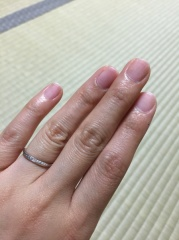 【4℃(ヨンドシー)の口コミ】 キラキラしている指輪で華やかな指輪がよかったので、なかなか良いお値段し…