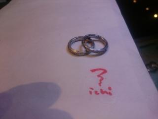 【ichi(イチ)の口コミ】 シンプルでいて、しかしながら他の指輪店では作れないような、オリジナリ…